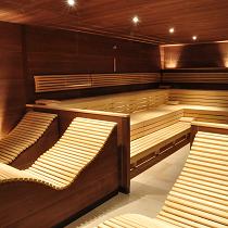 dry finish sauna
